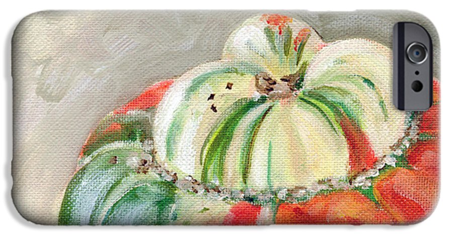 Still-life IPhone 6 Case featuring the painting Turks Turban by Sarah Lynch
