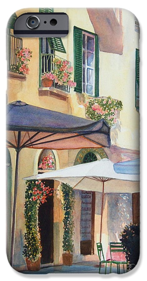 Tuscan IPhone 6 Case featuring the painting Tuscan Sunlight by Ann Cockerill
