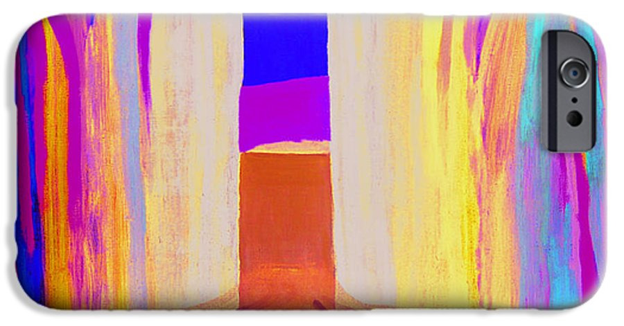 Landscape. Norwegian Title dragsug IPhone 6 Case featuring the painting Undertow. by Jarle Rosseland