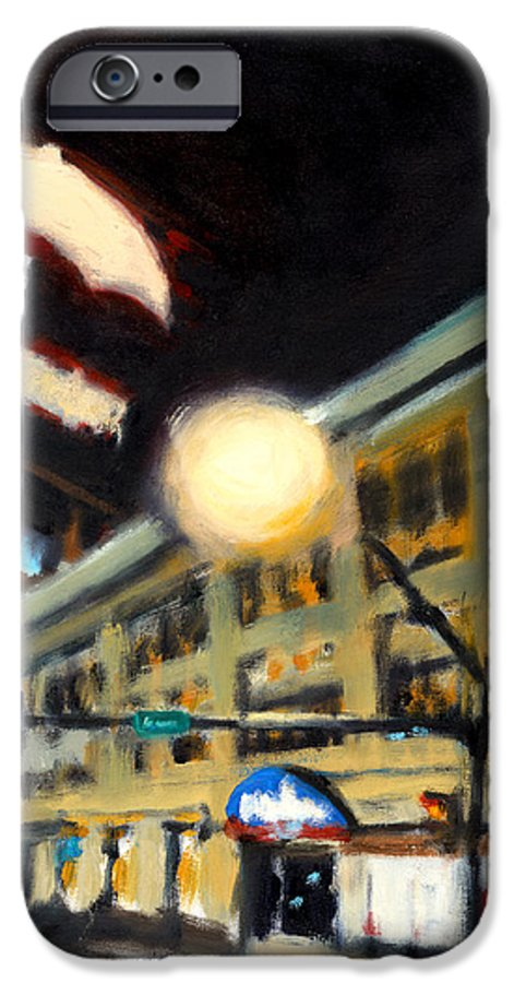 Rob Reeves IPhone 6 Case featuring the painting Untitled by Robert Reeves