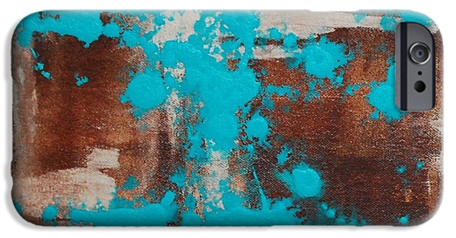 Diptech IPhone 6 Case featuring the painting Urbanesque I by Lauren Luna