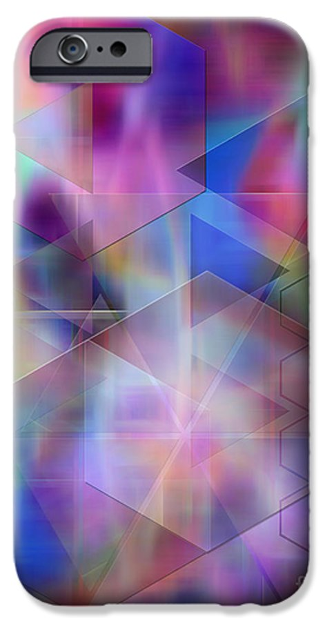 Usonian Dreams IPhone 6 Case featuring the digital art Usonian Dreams by John Beck