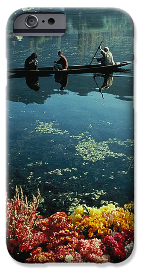 Boats IPhone 6 Case featuring the photograph Vale Of Kashmir by Carl Purcell