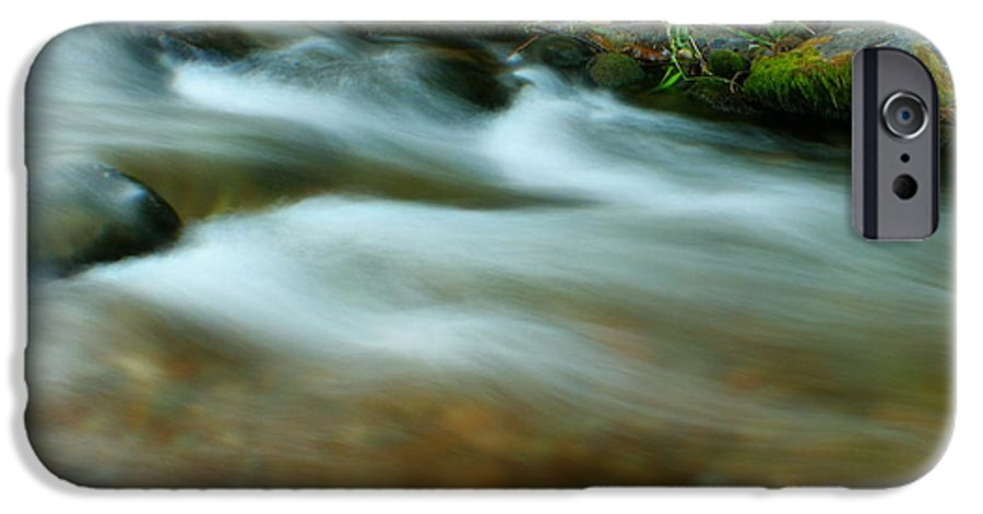 River IPhone 6 Case featuring the photograph Velvet River by Idaho Scenic Images Linda Lantzy