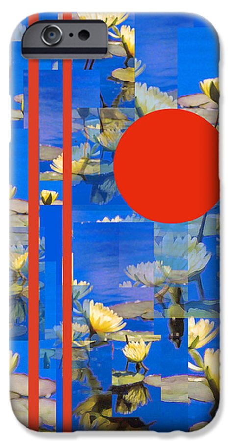 Flowers IPhone 6 Case featuring the photograph Vertical Horizon by Steve Karol