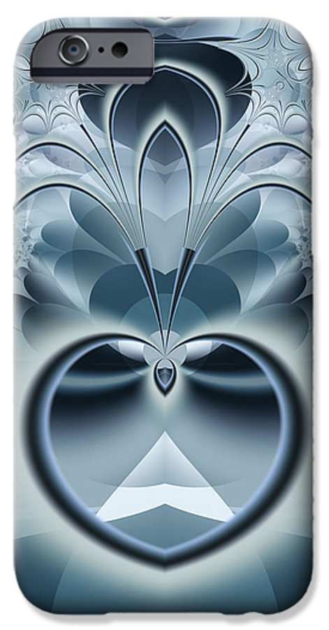 Fractal IPhone 6 Case featuring the digital art Vision by Frederic Durville
