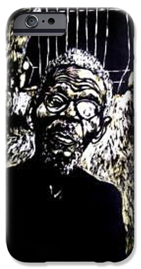 IPhone 6 Case featuring the mixed media Walimu Wally by Chester Elmore