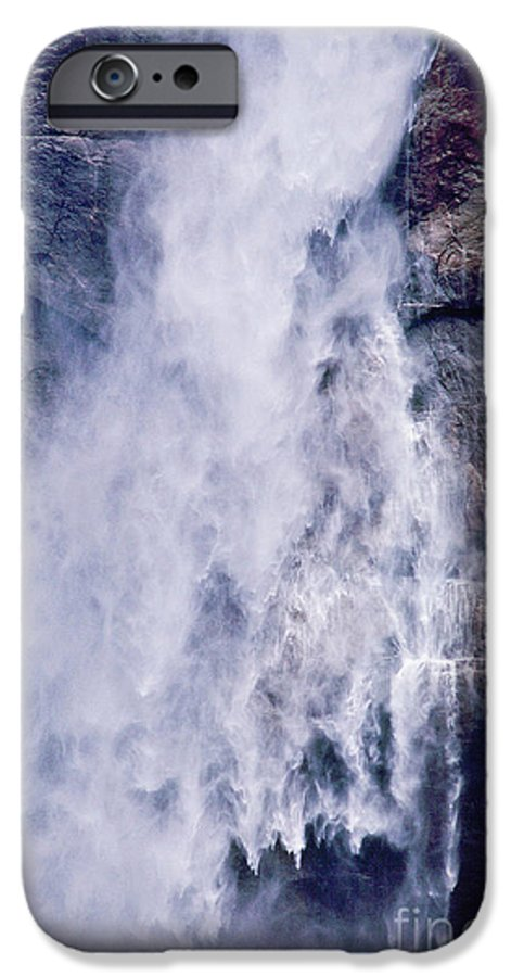 Waterfall IPhone 6 Case featuring the photograph Water Drops by Kathy McClure