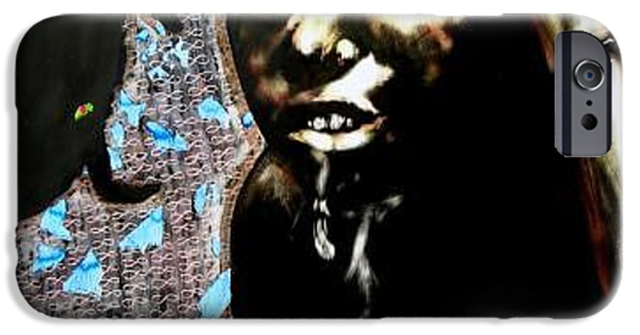 Social Commentary IPhone 6 Case featuring the mixed media Water Is Life by Chester Elmore