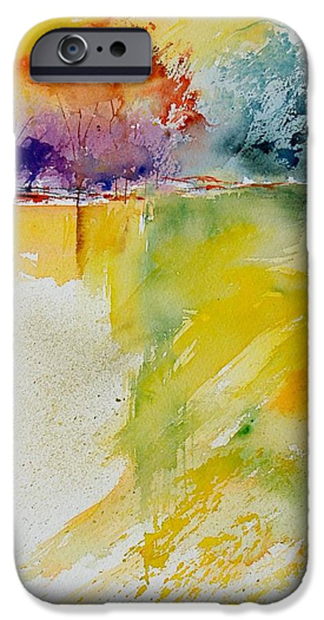 Pond IPhone 6 Case featuring the painting Watercolor 800142 by Pol Ledent