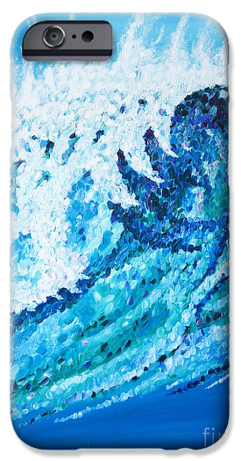 Ocean IPhone 6 Case featuring the painting Watercolor by JoAnn DePolo