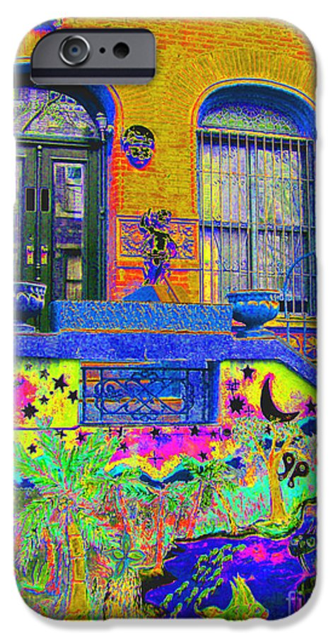 Harlem IPhone 6 Case featuring the photograph Wax Museum Harlem Ny by Steven Huszar