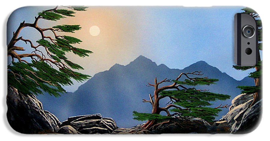 Weathered Warriors IPhone 6 Case featuring the painting Weathered Warriors by Frank Wilson