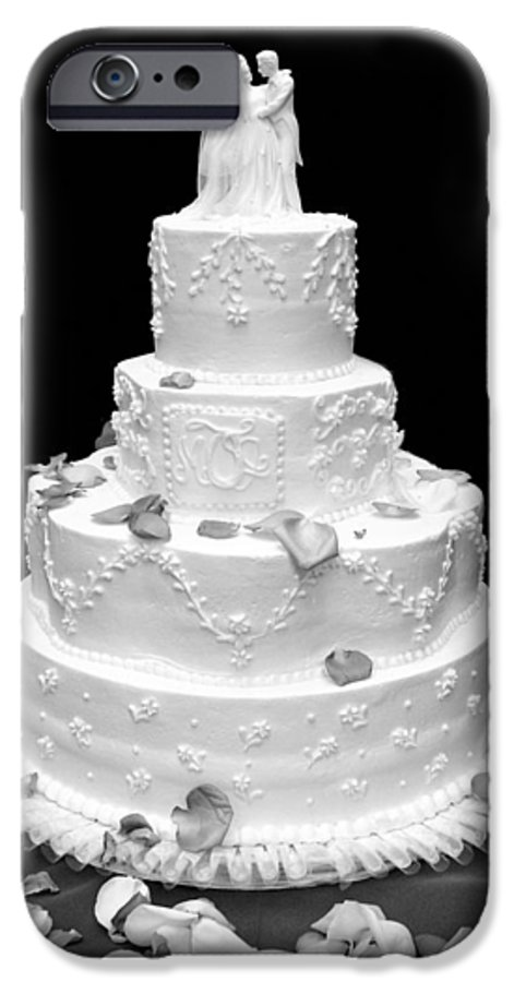 Wedding IPhone 6 Case featuring the photograph Wedding Cake by Marilyn Hunt