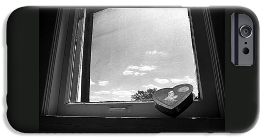 Window IPhone 6 Case featuring the photograph What Remains by Ted M Tubbs