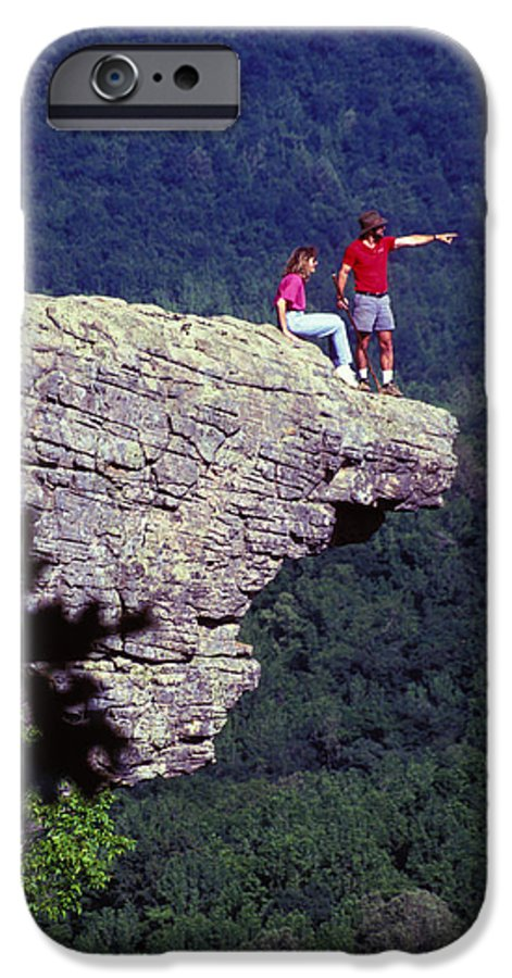 Geological IPhone 6 Case featuring the photograph Whittiker Point In Arkansas by Carl Purcell