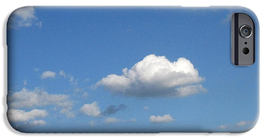 Clouds IPhone 6 Case featuring the photograph Wide Open by Rhonda Barrett