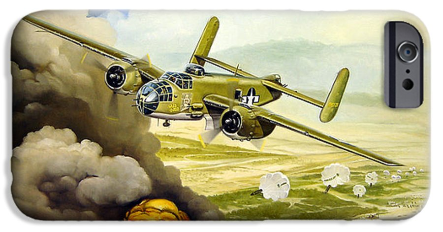 Aviation IPhone 6 Case featuring the painting Wild Cargo by Marc Stewart