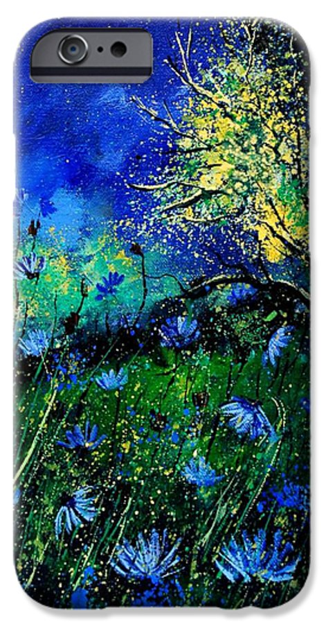 Poppies IPhone 6 Case featuring the painting Wild Chocoree by Pol Ledent
