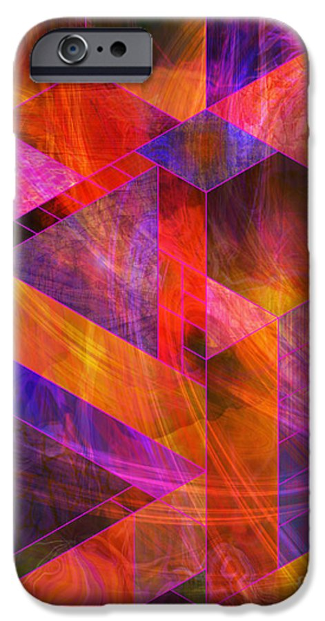 Wild Fire IPhone 6 Case featuring the digital art Wild Fire by John Beck