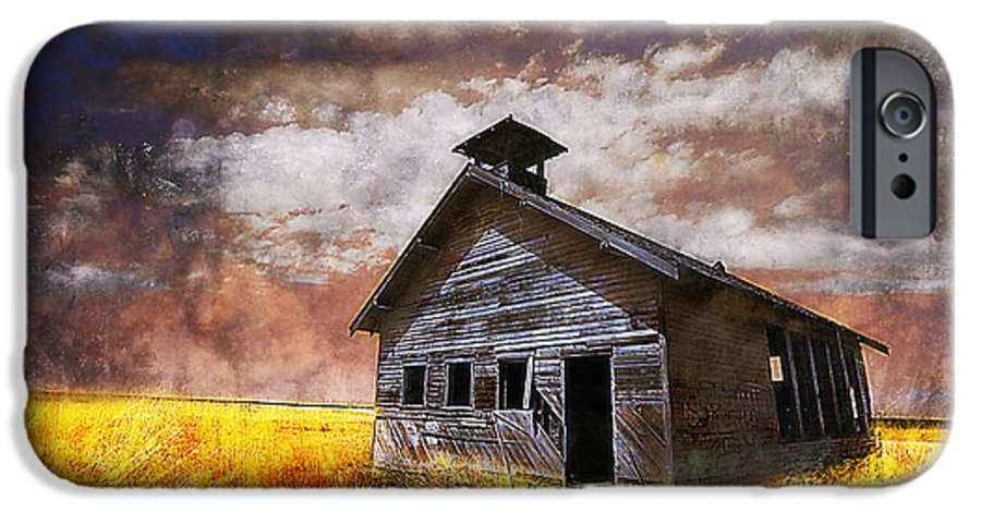 House IPhone 6 Case featuring the photograph Will This Be The Way Of Education In The Us by Jeff Burgess