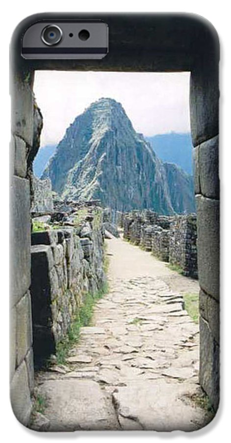 Peru IPhone 6 Case featuring the photograph Winay Picchu by Kathy Schumann