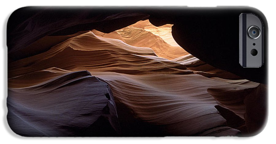Antelope Canyon IPhone 6 Case featuring the photograph Wind And Water by Kathy McClure