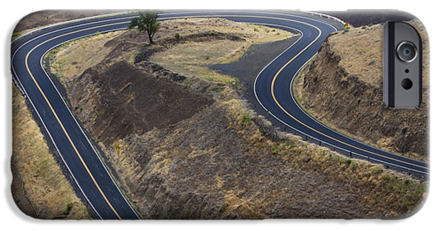 Road IPhone 6 Case featuring the photograph Winding Road by Idaho Scenic Images Linda Lantzy
