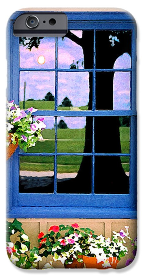 Still Life IPhone 6 Case featuring the photograph Window by Steve Karol