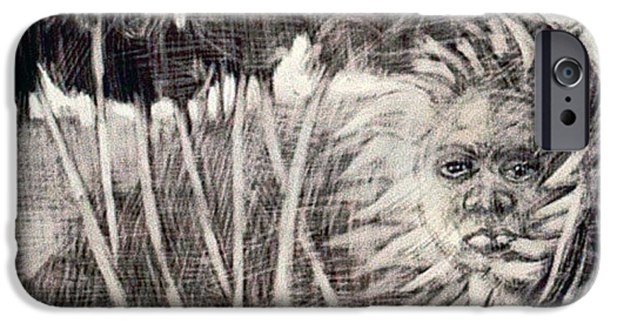 IPhone 6 Case featuring the mixed media Windy by Chester Elmore