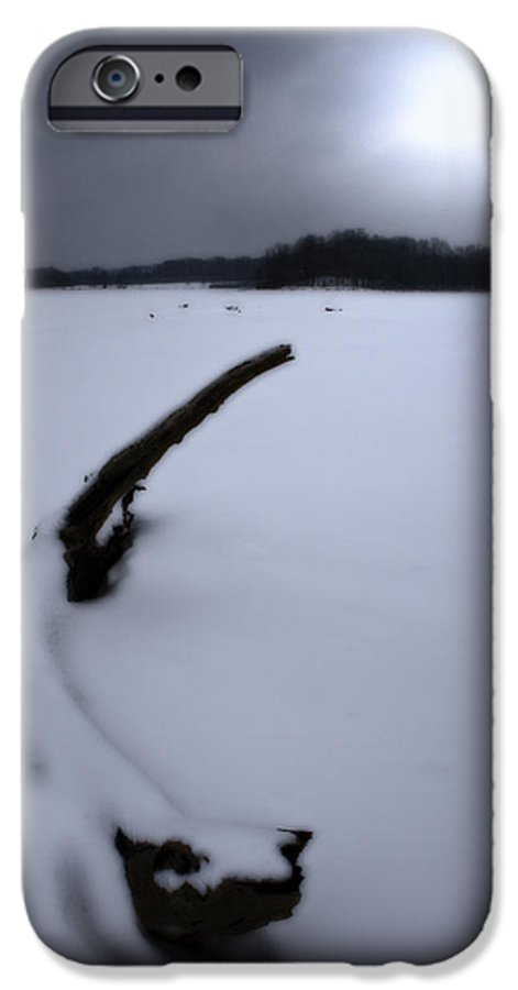 Winter IPhone 6 Case featuring the photograph Winter Moonrise by Kenneth Krolikowski