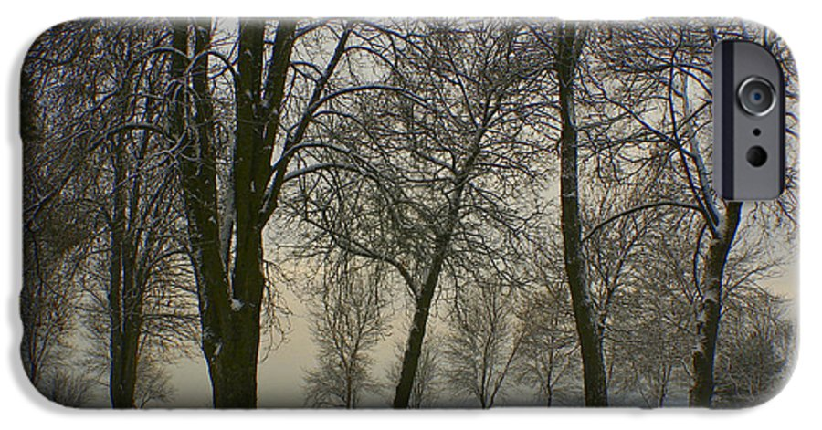Park IPhone 6 Case featuring the photograph Winter Wonderland by Idaho Scenic Images Linda Lantzy