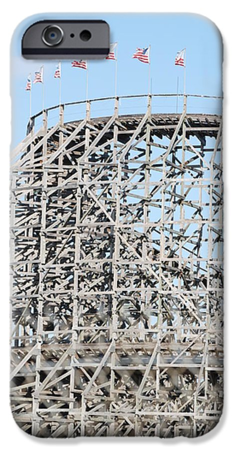 Pop Art IPhone 6 Case featuring the photograph Wooden Coaster by Rob Hans
