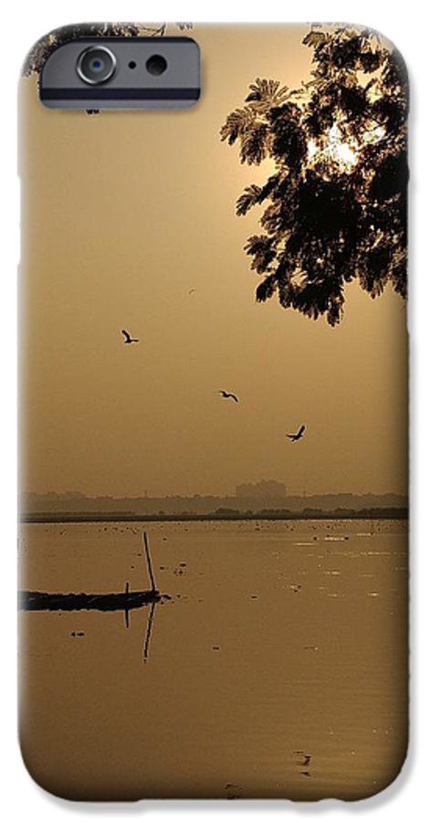 Sunset IPhone 6 Case featuring the photograph Sunset by Priya Hazra