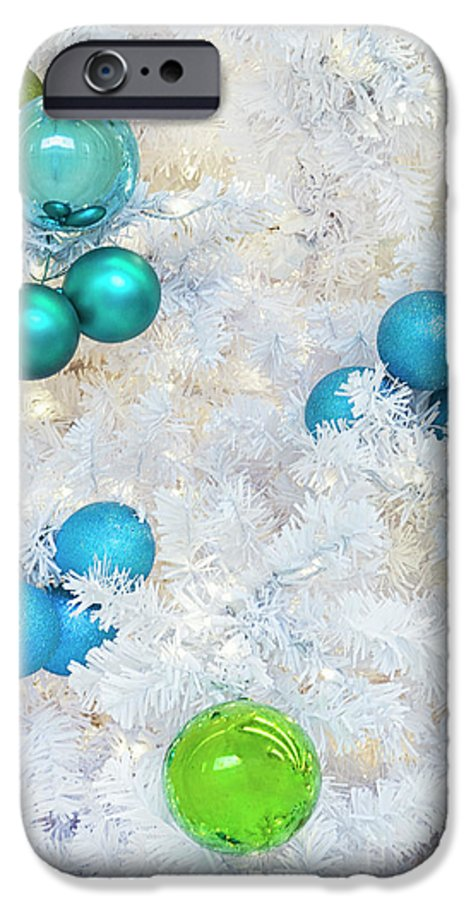 Kremsdorf IPhone 6 Case featuring the photograph White Christmas by Evelina Kremsdorf