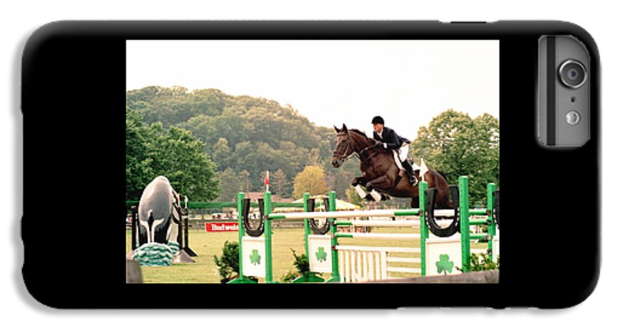 Horse IPhone 6 Plus Case featuring the photograph 111708-1 by Mike Davis