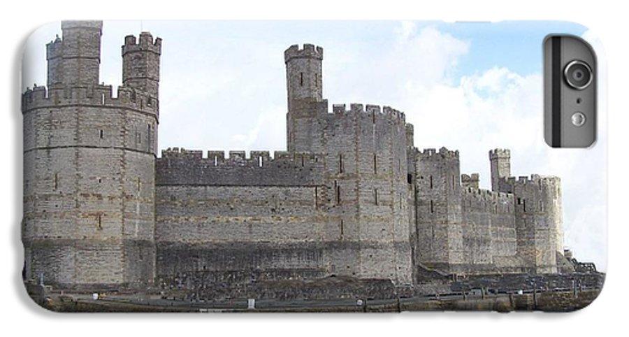 Castles IPhone 6 Plus Case featuring the photograph Caernarfon Castle by Christopher Rowlands