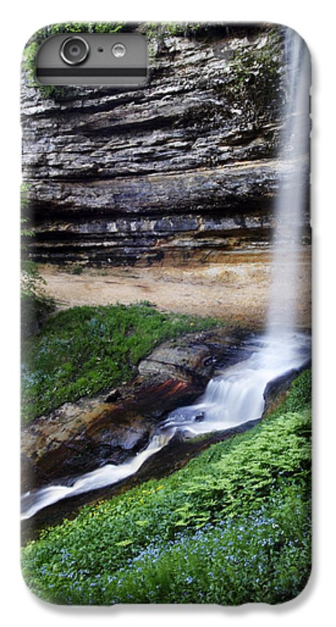 3scape Photos IPhone 6 Plus Case featuring the photograph Munising Falls by Adam Romanowicz