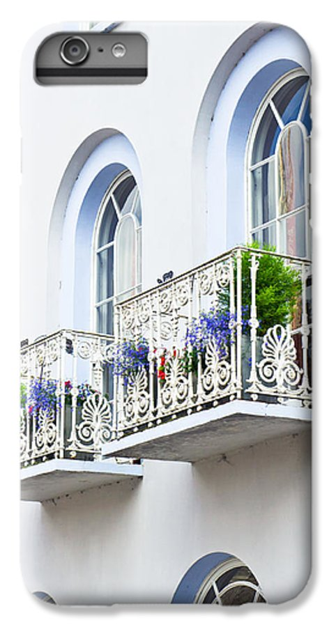 Apartment IPhone 6 Plus Case featuring the photograph Balconies by Tom Gowanlock