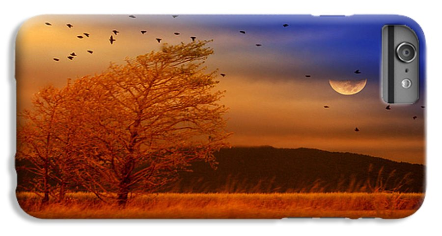 Landscape IPhone 6 Plus Case featuring the photograph Against The Wind by Holly Kempe