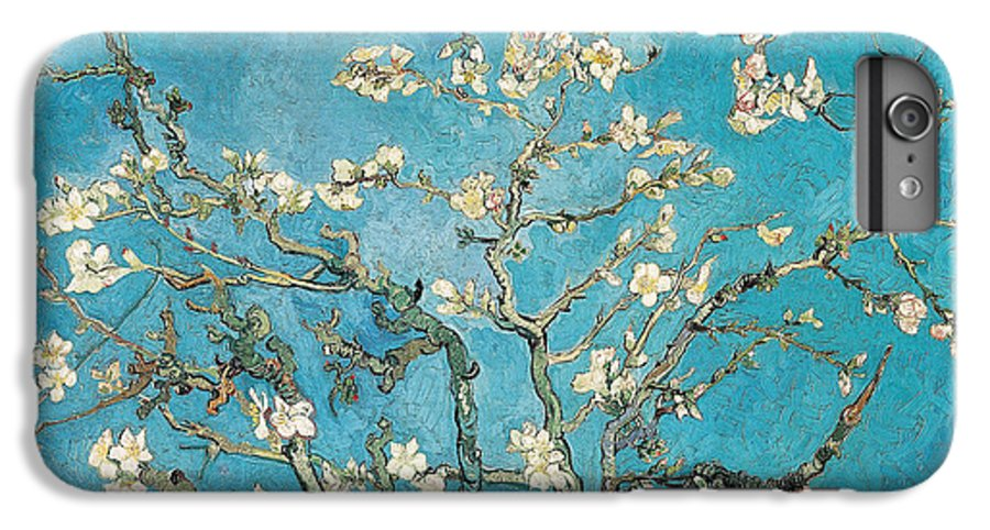Van IPhone 6 Plus Case featuring the painting Almond Branches In Bloom by Vincent van Gogh