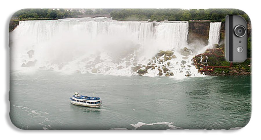 3scape Photos IPhone 6 Plus Case featuring the photograph American Falls by Adam Romanowicz