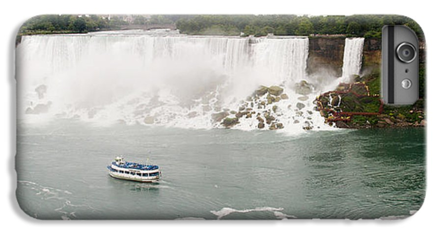3scape IPhone 6 Plus Case featuring the photograph American Falls by Adam Romanowicz
