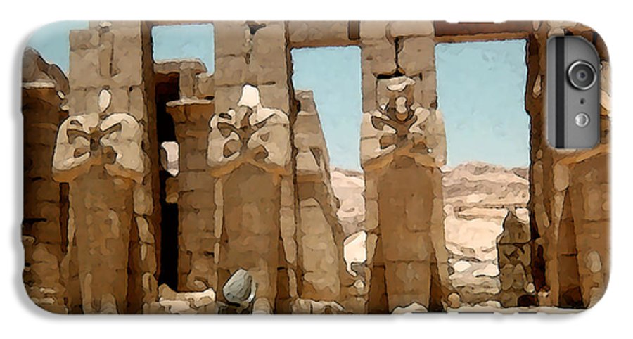 Art IPhone 6 Plus Case featuring the photograph Ancient Egypt by Piero Lucia