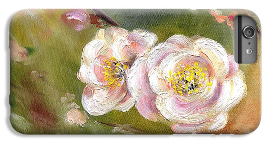 Flower IPhone 6 Plus Case featuring the painting Anniversary by Hiroko Sakai