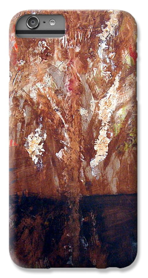 Autumn IPhone 6 Plus Case featuring the painting Autumn by Holly Picano