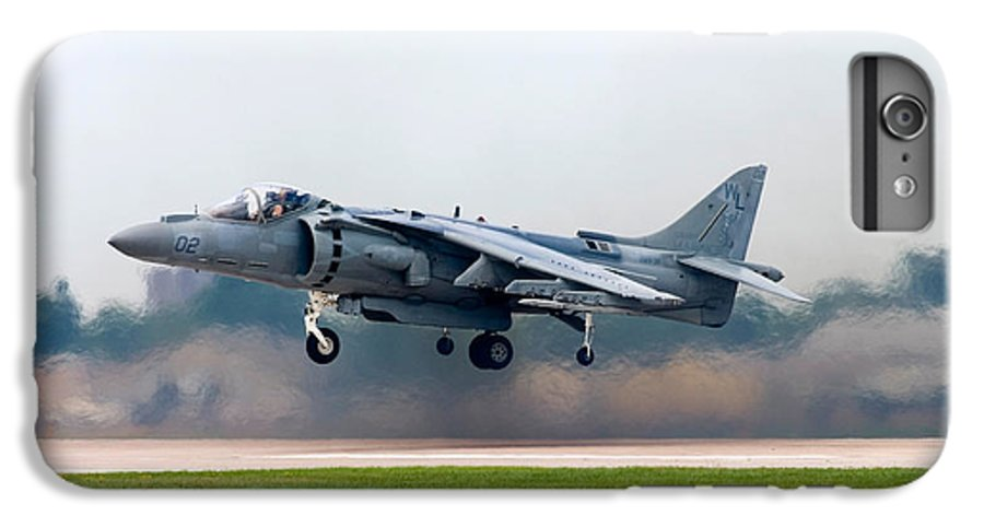 3scape IPhone 6 Plus Case featuring the photograph Av-8b Harrier by Adam Romanowicz