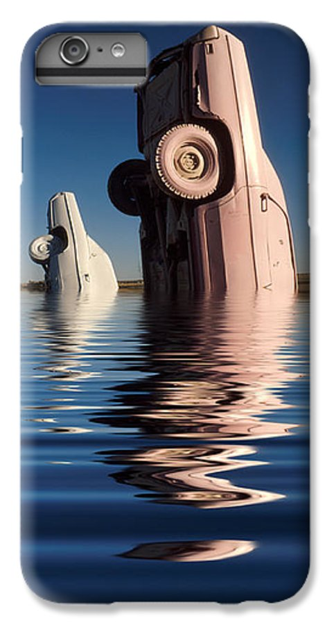 Cadillac IPhone 6 Plus Case featuring the photograph Bobbing For Carburetors by Jerry McElroy