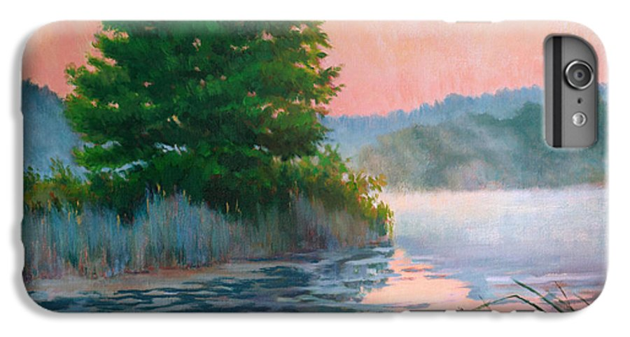 Impressionism IPhone 6 Plus Case featuring the painting Break Of Day by Keith Burgess