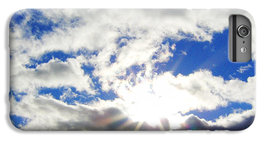 Sky IPhone 6 Plus Case featuring the photograph Breaking Through by J Andrel